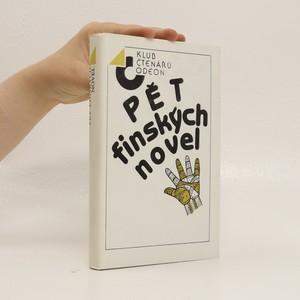 náhled knihy - Pět finských novel