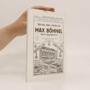 náhled knihy - Sklad hodin, zlatého a stříbrného zboží Max Böhnel (Ilustrovaný přehled hodinový)