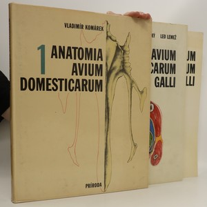 náhled knihy - Anatomia avium domesticarum et embryologia galli: 1.-3. díl, 3 svazky