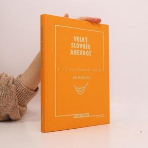 náhled knihy - Velký slovník anekdot: A-Z encyklopedie smíchu