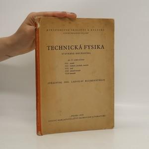 náhled knihy - Technická fysika. Stavebná mechanika pro II. ročník povolání VI