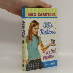 náhled knihy - Nová holka. Allie Finklová : Holčičí pravidla. Díl 2.