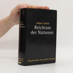 náhled knihy - Reichtum der Nationen