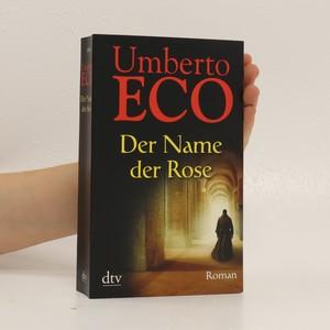 náhled knihy - Der Name der Rose : Roman