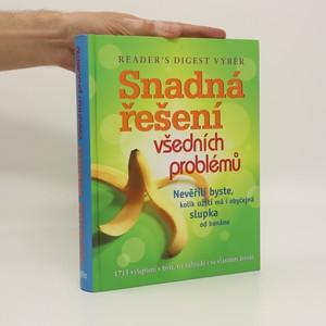 náhled knihy - Snadná řešení všedních problémů