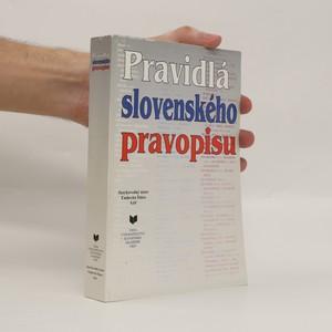 náhled knihy - Pravidlá slovenského pravopisu