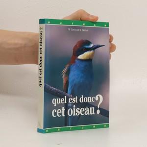 náhled knihy - Quel est donc cet oiseau?