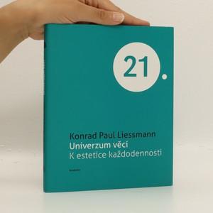 náhled knihy - Universum věcí. K estetice každodennosti