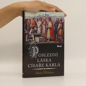 náhled knihy - Poslední láska císaře Karla