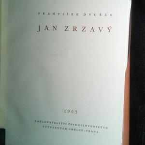 antikvární kniha Jan Zrzavý, 1965