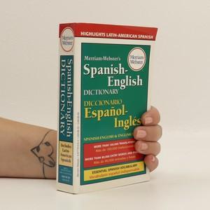 náhled knihy - Merriam-Webster's Spanish-English Dictionary / Diccionario Español-Inglés