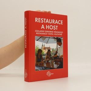 náhled knihy - Restaurace a host : základní odborné vědomosti : restaurace, hotel, kuchyně