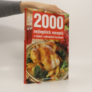 náhled knihy - 2000 nejlepších receptů z české i zahraniční kuchyně
