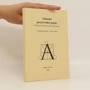 náhled knihy - Základní jazykovědné pojmy. Výběrový slovník lingvistické terminologie