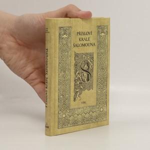 náhled knihy - Přísloví krále Šalomouna