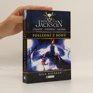 náhled knihy - Percy Jackson. Poslední z bohů. 5. díl