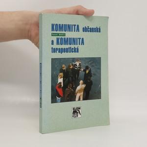 náhled knihy - Komunita občanská a komunita terapeutická