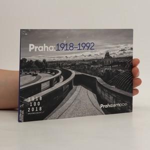 náhled knihy - Praha: 1918-1992