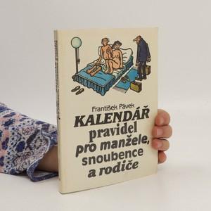 náhled knihy - Kalendář pravidel pro manžele, snoubence a rodiče