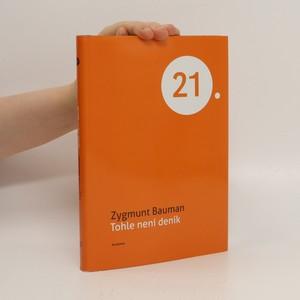 náhled knihy - Tohle není deník