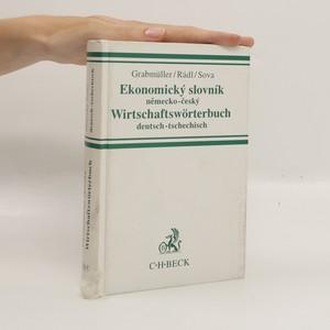 náhled knihy - Ekonomický slovník německo-český. Wirstchaftswörterbuch deutsch-tschechisch
