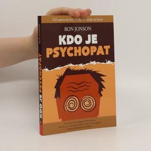 náhled knihy - Kdo je psychopat