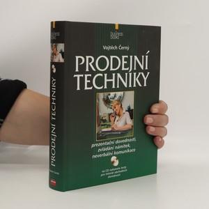 náhled knihy - Prodejní techniky
