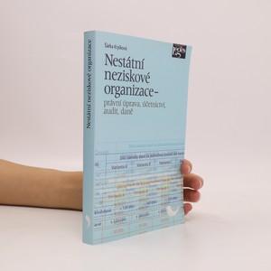náhled knihy - Nestátní neziskové organizace - právní úprava, účetnictví, audit, daně
