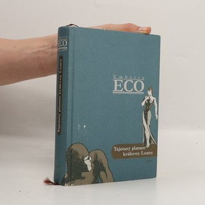náhled knihy - Tajemný plamen královny Loany : ilustrovaný román