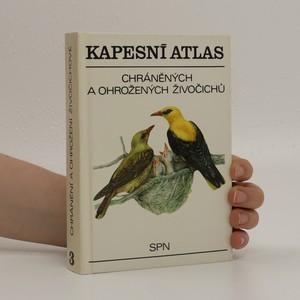 náhled knihy - Kapesní atlas chráněných a ohrožených živočichů 3. díl