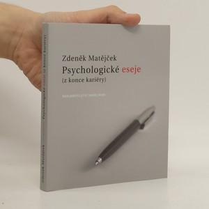 náhled knihy - Psychologické eseje (z konce kariéry)
