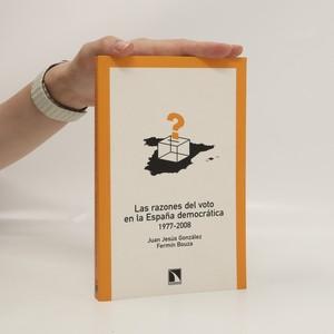 náhled knihy - Las razones del voto en la España democrática. 1977-2008