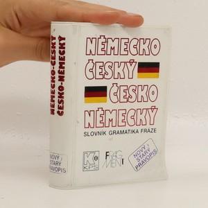 náhled knihy - Velký kapesní německo-český česko-německý slovník