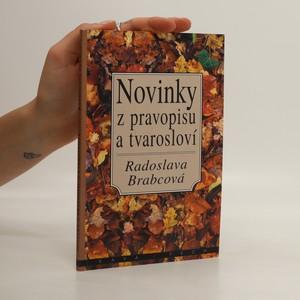 náhled knihy - Novinky z pravopisu a tvarosloví