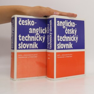 náhled knihy - Česko-anglický technický slovník. Anglicko-český technický slovník (2 svazky, viz foto)