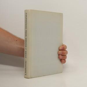 náhled knihy - Studia z historii mysli estetycznej XVIII i XIX wieku