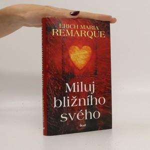 náhled knihy - Miluj bližního svého