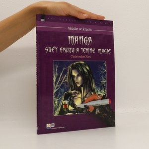 náhled knihy - Manga - svět hrůzy a temné magie. Naučte se kreslit