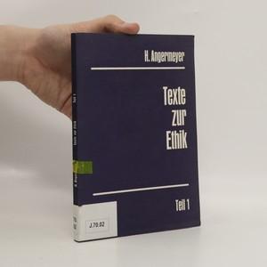 náhled knihy - Texte zur Ethik - Teil 1