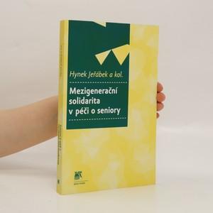 náhled knihy - Mezigenerační solidarita v péči o seniory