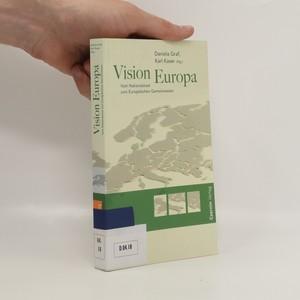 náhled knihy - Vision Europa : vom Nationalstaat zum europäischen Gemeinwesen