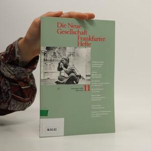 náhled knihy - Die Neue Gesellschaft : Frankfurter Hefte 11