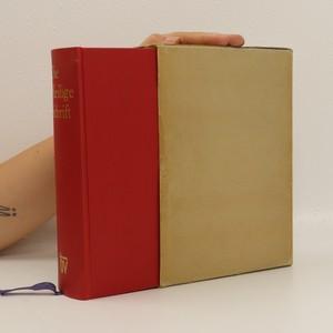 náhled knihy - Die Heilige Schrift