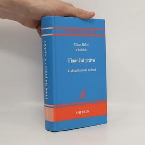 náhled knihy - Finanční právo