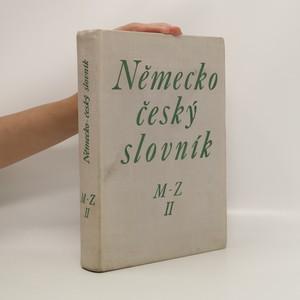 náhled knihy - Německo-český slovník : M-Z