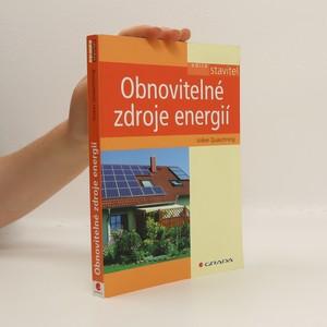 náhled knihy - Obnovitelné zdroje energií