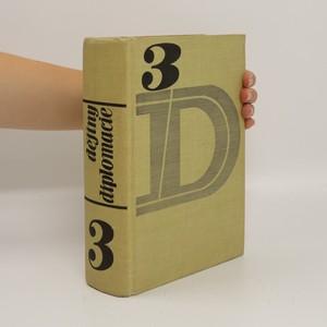 náhled knihy - Dějiny diplomacie: 3.díl