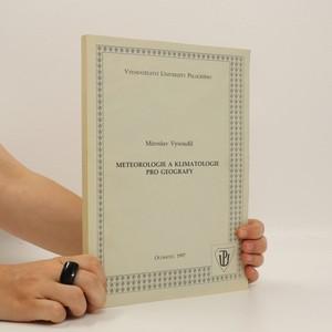 náhled knihy - Meteorologie a klimatologie pro geografy