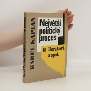 náhled knihy - Největší politický proces (M. Horáková a spol.)