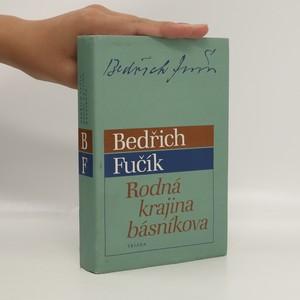 náhled knihy - Rodná krajina básníkova